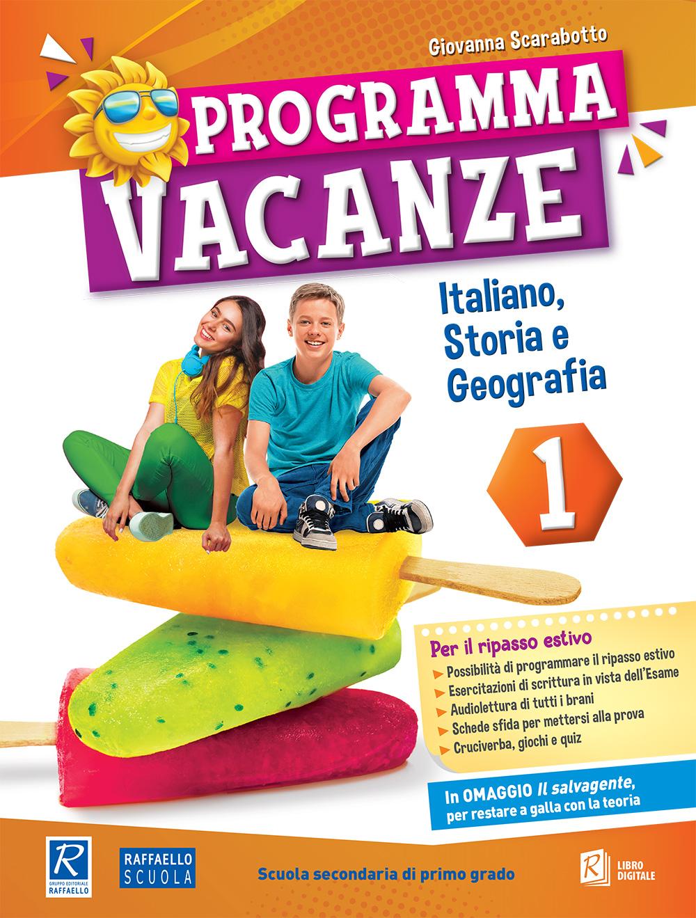 Programma Vacanze - Italiano, Storia e Geografia